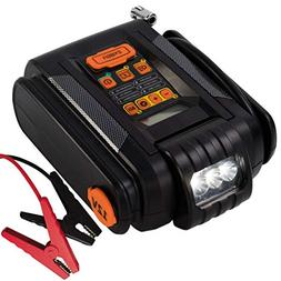 lithium jump starter with digital preset air