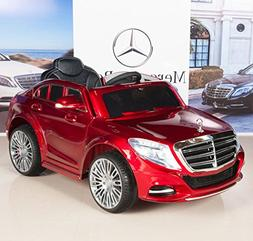Mercedes 12V Electric Ride On Car Kids RC Remote Control  -