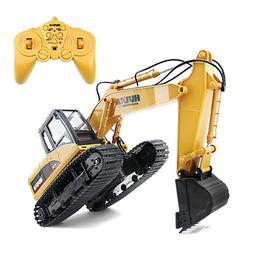 Metal Excavator Charging 1:24 RC Car With Battery Alloy Exca