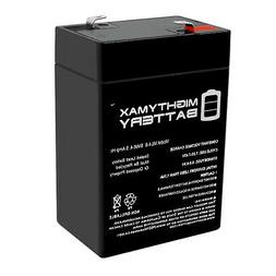 Mighty Max 6V 4.5AH Battery Replaces Dynacraft Spiderman Car