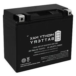 Mighty Max YTX20L-BS Battery Replacement for Odyssey Extreme