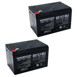 NEW 2 PACK UB12150 12V 15AH F2 Replacement Battery for Littl