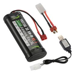 Ni-MH Battery 7.2V 5000mAh High Volt Battery+Charger For RC