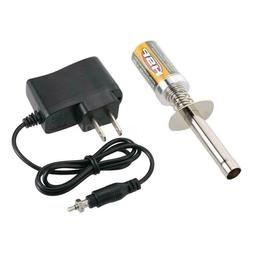 Nitro Starter Kit Glow Plug Igniter with Charger for 1/10 1/