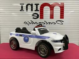 police ride on car kids electric vehicle