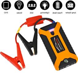 Portable 20000mAh 12V Car Jump Starter Engine Battery Charge