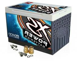 XS Power D3400 12V AGM 3300A Car Audio Battery/Cell+FREE 586