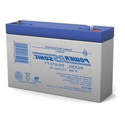 Power-Sonic 6V 7Ah SLA Replacement Battery for Hello Kitty S