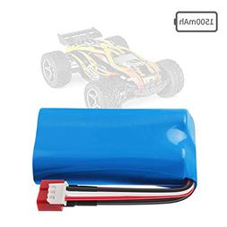 Rechargeable Li-ion Battery 7.4V 1500mAh Universal for WLtoy