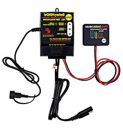BatteryMINDer SCC180 Solar Charger-Controller with Desulfato