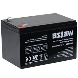 Weize 12V 12Ah F2 Rechargeable SLA Sealed Deep Cycle Battery
