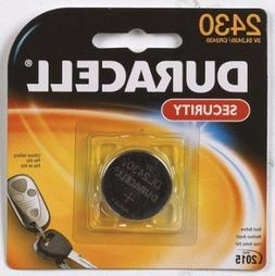 Duracell Security Battery 3.0 V Model No. 2430 Carded
