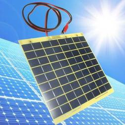 Solar Cell Panel 5 Watt 12Volt For Car Battery Trickle Charg