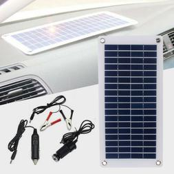 Solar Panel Power Portable Battery Charger Solar Trickle Pan
