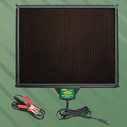 solar powered panel battery charger 12v maintainer