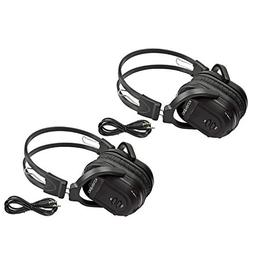 2 Pack of Two Channel Folding Universal Rear Entertainment S