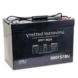 UPG 12V 100AH Battery for Group 27 E-Car E-Caddy U403 Golf C