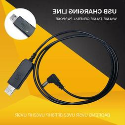 Walkie Talkie USB Charger Power Adapters Cable For Baofeng U
